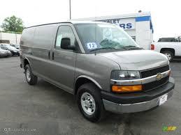 2012 Graystone Metallic Chevrolet Express 2500 Cargo Van #65229732 ...