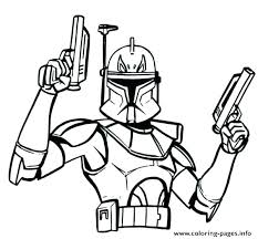 Star Wars Rogue One Coloring Pages Free Printable Colouring Clone