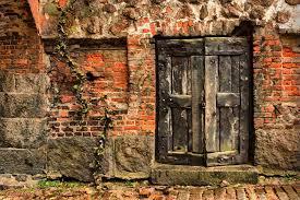 mysterious door very old door vyborg
