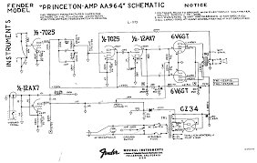 fender amp field guide contents aa964 schematic