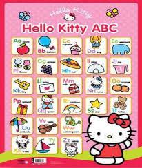 Hello Kitty Wall Chart Abc By Igloo Books Ltd