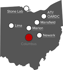future students the ohio state university map of ohio state regional campuses