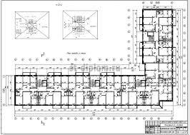 Дипломный проект ПГС крупнопанельный многоэтажный жилой дом 5 План типового этажа