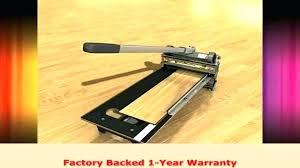 cutting vinyl plank flooring with cork backing