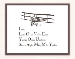 This chart is fundamental military knowledge. Phonetic Alphabet Etsy