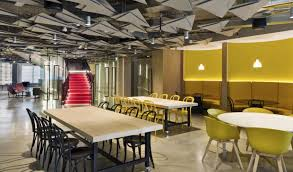 Office Design Group Unique Corporate Offices Get A Casual Makeover Afr