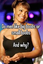Do men like big tits
