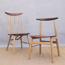 nordic furniture. Nordic Chair Black Walnut Fight White Oak Furniture Modern Minimalist Japanese Wooden Chairs Near The C