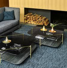 interior design living room contemporary. Brass-plated Steel, Marble-effect Ceramics, And Smoked Glass The Table Offers Finesse, Style, Charm For Any Modern Living Room Arrangement. Interior Design Contemporary