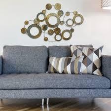 Metallic Home Decor Stratton Home Decor Metal Metallic Circles Wall Decor Multi