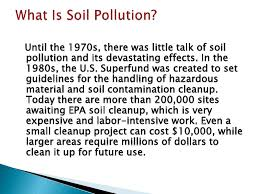 essay on soil pollution descriptive analysis of awareness about  soil pollution health effect of the soil 4