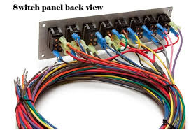 race car switch panel wiring race wiring diagrams cars 12 circuit street legal race car harness w 8 switch panel