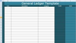 accounting ledger template general ledger template excel xls xlstemplates