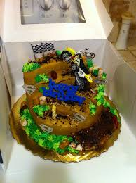 Dirt Bike Cake Motocross Cake Birthday Cake Publix Cake My