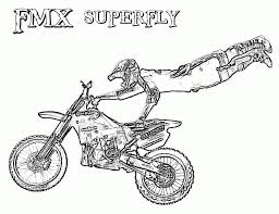 Small Picture Dirt Bike Coloring Page Coloring Pages For Kids And For Adults