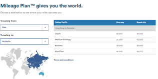 Alaska Mileage Chart Alaska Airlines Mileage Plan Awards Restrict Global Travel