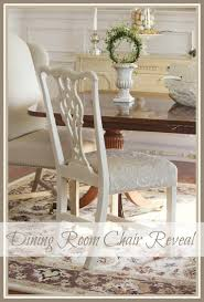 ONE PAINTED AND REUPHOLSTERED DINING ROOM CHAIR StoneGable Mesmerizing Reupholstered Dining Room Chairs