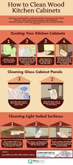 clean wood cabinets how kitchen cleaning recipe infographic 530 d 82 f 3 w kitc wooden