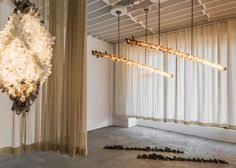 the new gallery debuts in la with a lighting collection by christopher boots a lighting