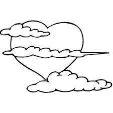 Small Picture Cloud Coloring Pages Free Printables MomJunction