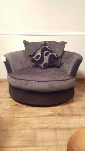 used dfs farrow grey large swivel chair in e2 london for 300 00 shpock