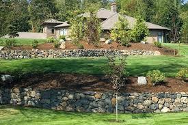 yard wall cost of retaining wall yard wallet