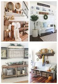 31 cozy farmhouse entryway decor ideas