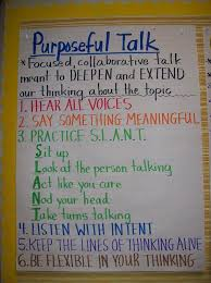 Anchor Charts For Middle School Science Purposeful Talk