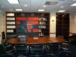 image of law office furniture used