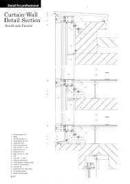 curtain wall detail architecture details walls detail and architecture