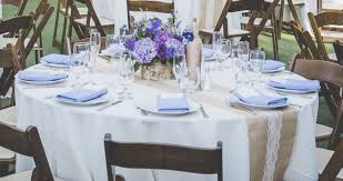 image of rustic table runners decor
