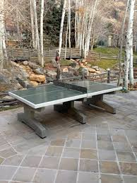 concrete ping pong tables