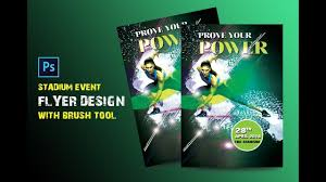 how to make a sports flyer how to make sports flyers design in adobe photoshop creative flyer