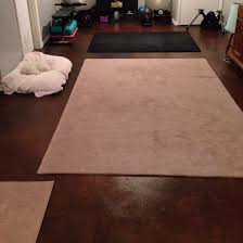 basement floor after behr concrete dye earth fire