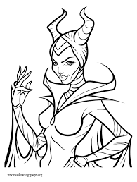 Small Picture Maleficent Angelina Jolie As Maleficent Coloring Page Coloring