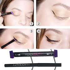 new eye liner st easy to makeup v st cat eye wing eyeliner tool makeup kit brush tool winged eyeliner elf makeup from yangti 34 61 dhgate