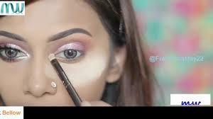 makeup world glow pink eyes full face makeup tutorial natural look care face 2018