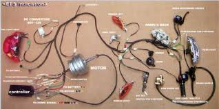 x treme xm 2000 reconstructed v is for voltage electric vehicle here s the 2nd wiring diagram from the manual