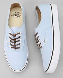 shoes vans blue brushed twill california authentic sky leather lace in hipster shows brown pale baby blue blue vans nice sweet shoes