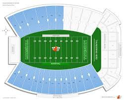 Joan Edwards Stadium Student Football Seating