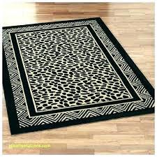 brown zebra rug print area leopard rugs cheetah and white hide 8x10