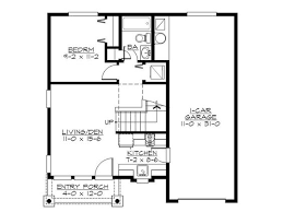 st Floor Plan Design G  the house plan shop   SMALL HOUSES     st Floor Plan Design G  the house plan shop