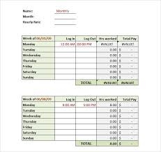 free timesheets templates excel monthly timesheet template excel aesthetecurator com