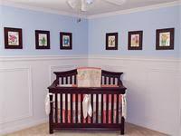chair rail nursery. Wonderful Nursery On Chair Rail Nursery V