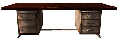 wooden office table. Wooden Office Desk.png Table