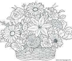 Hard Flower Coloring Pages At Getdrawingscom Free For Personal