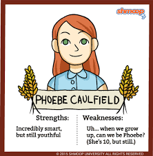 phoebe caulfield in the catcher in the rye chart phoebe caulfield