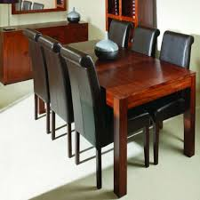 dining room furniture unique appearance quality decor decobizz bench style table black chairs wood set with solid sets and sofa retro tables sideboard