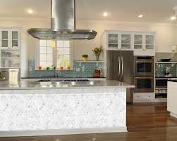 100% natural mother of pearl tiles for kitchen backsplash & bathroom wall  traditional-kitchen