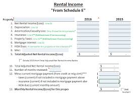 Rental Income Worksheet Local Lenders Team Move Ovm Financial 5 Star